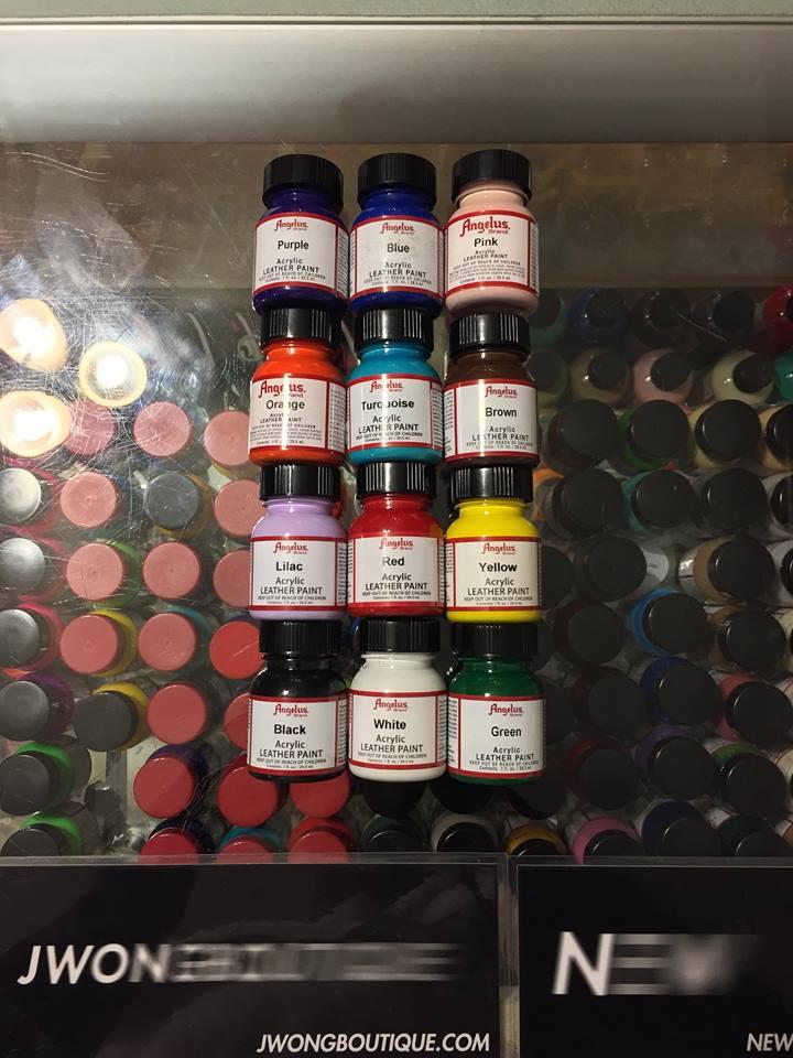 Angelus Acrylic Leather Paint 12 Set Starter Kit Europe 1 Fl Oz