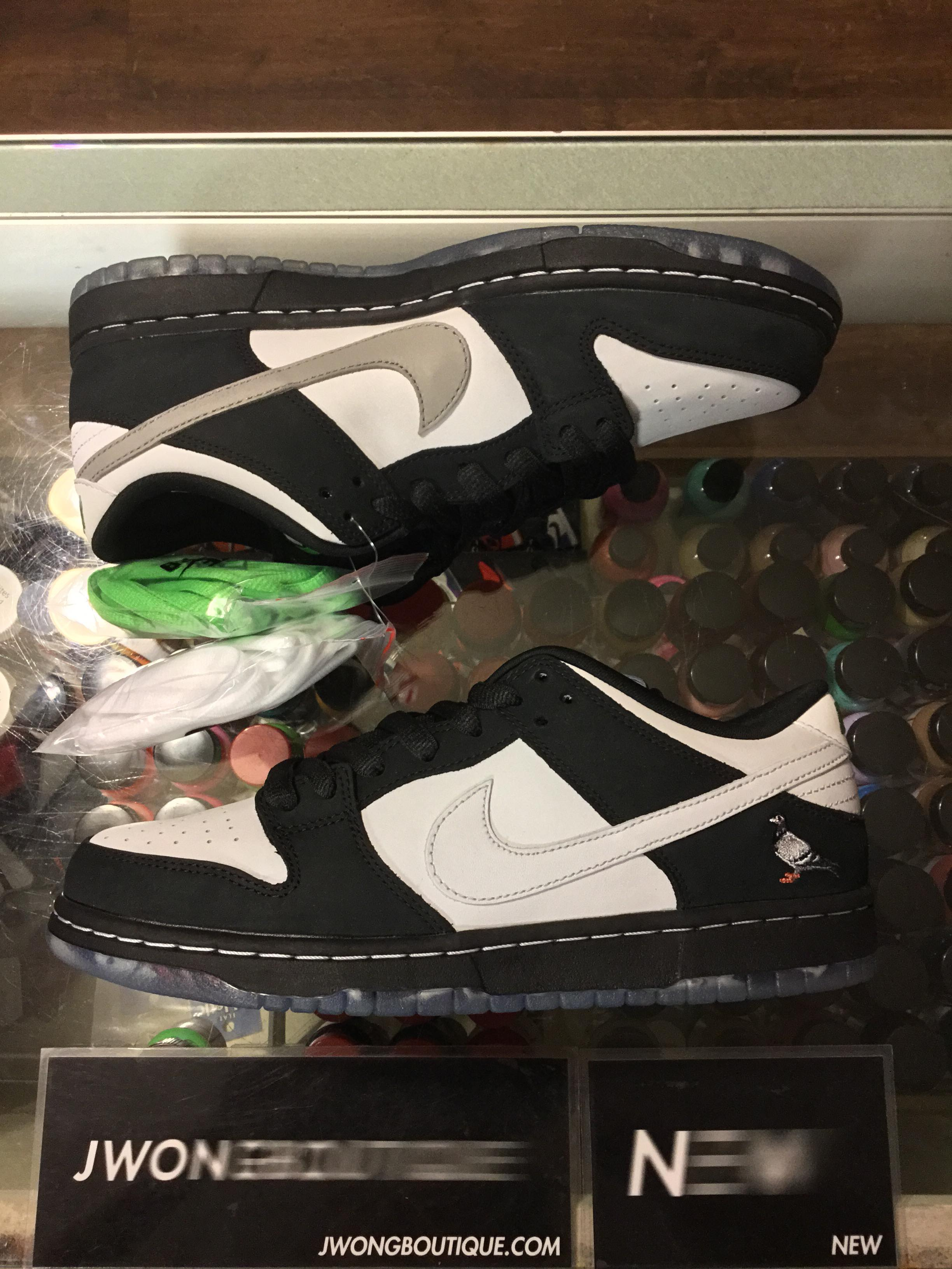 best loved c6a42 b73f1 2019 Nike SB Dunk Low Staple Panda Pigeon