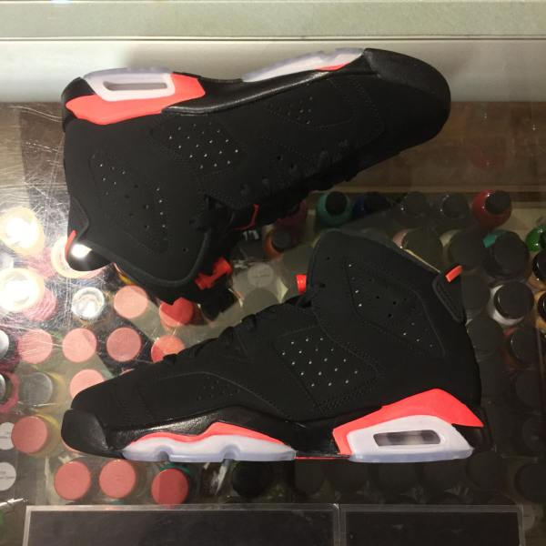detailed look 73115 f3ef4 2019 Nike Air Jordan VI Black Infrared Youth   Jwong Boutique