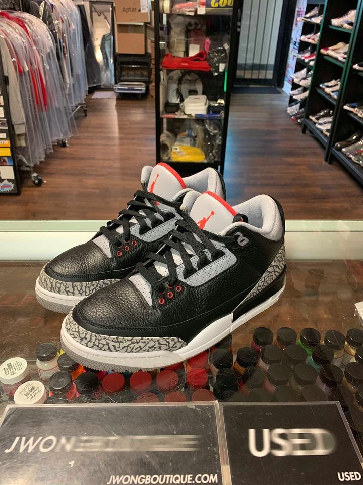 separation shoes 26a0a 94927 2018 Nike Air Jordan III Black Cement