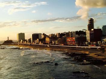 Sunset over Bahia