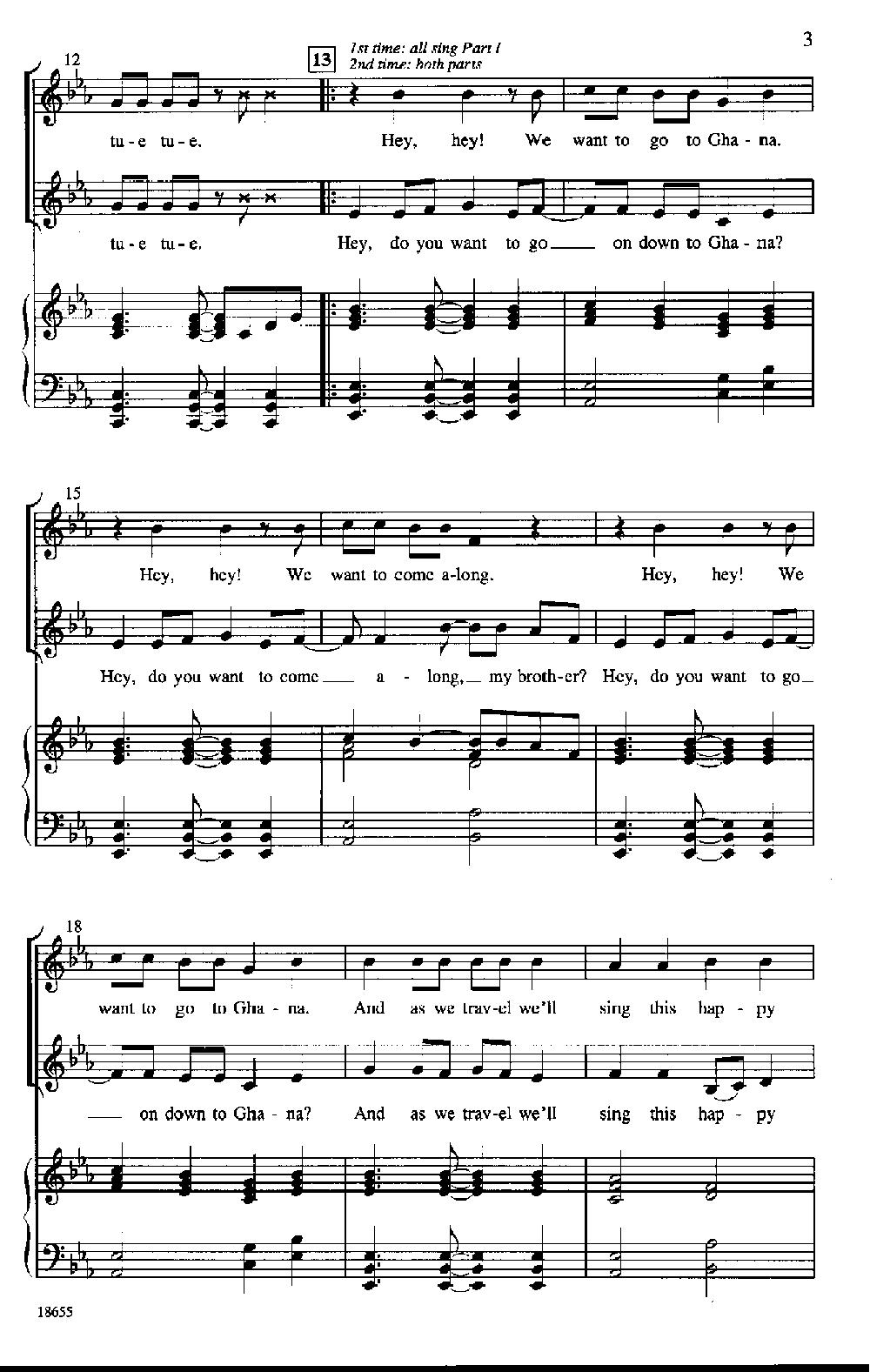 Obwisana : obwisana, Obwisana, (Two-Part, Donnelly, Pepper, Sheet, Music