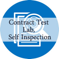 Self-inspection audit – Contract testing laboratory