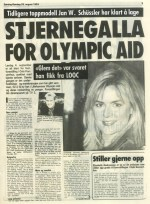 Stjernegalla for olympic aid 1993