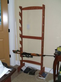 Ideas Woodworking: Gun rack plans free standing