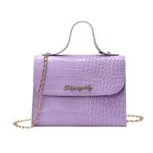Summer Texture Women Bag Shoulder Bag 2020 New Wave Chain Fashion Wild Messenger Bag Portable Small Square Bag