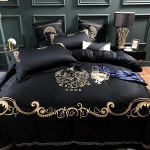 luxury bedding  emboidery Bedding set 100% cotton