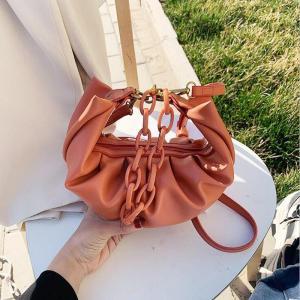Women Hobo Bags Pleated Handbags Designer Tote Bags PU Leather Shoulder Bags Crossbody Bag For Women Messenger Bag ANAWISHARE