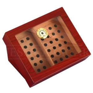 GALINER Cigar Humidor Box Cedar Wood Luxury Fit 20-30 Cigars With Interval Humidifier Hygrometer Cigar Accessories Cigars