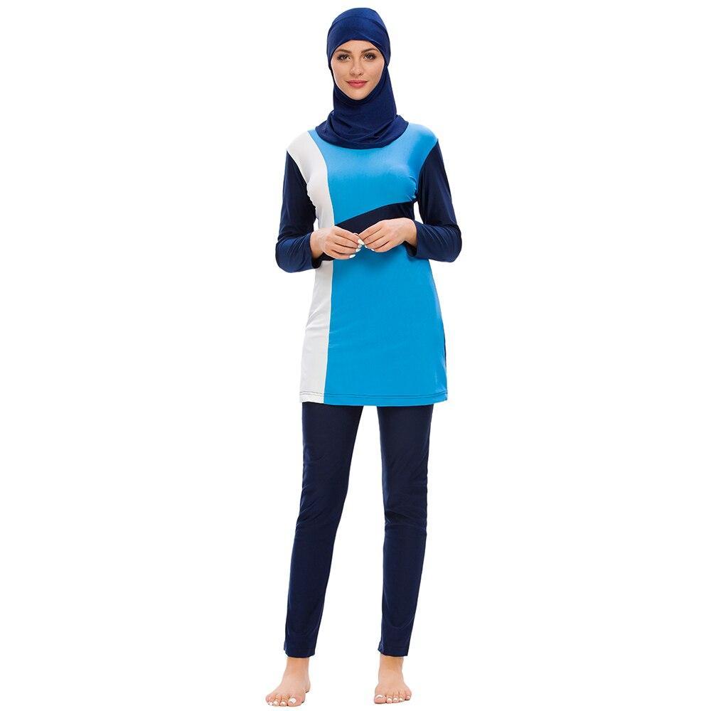 News Muslim Swimsuit Swimming Suit Islamic Swim Wear Beach Islamic Plus Size Burkinis Modest Clothing Islamic Swimwear