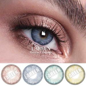 Lareen 2pcs/pair Cosmetic Colored Contact Lenses Eyes Christmas Contact Lenses Color Contacts Lens For Eyes lentes de contacto