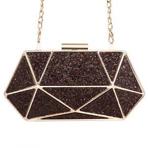 Girl's Glitter Rhinestone Purse Evening Bags for Women Luxury Party Handbag for Wedding Clutch Bag Diamond Chain Shoulder Bag