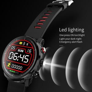 2019 Smart Watch IP68 Waterproof Fitness Tracker Bracelet Heart Rate Monitor LED Lighting Watch Men Smartwatch for IOS Android