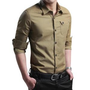 Shirts for men New Thin Breathable Military Men Shirts Long Sleeve Slim Men's Shirts Summer 2019 Business Men Brand Clothing