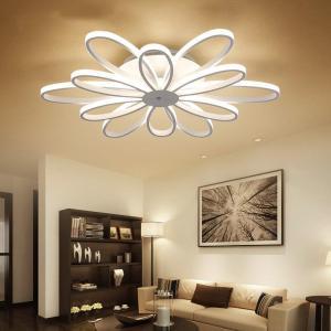 LED Ceiling Lights post-modern minimalist living room lamps creative Nordic Flower bedroom fixtures restaurant Ceiling lighting