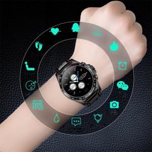 Smart Watch Men Sport Electronic LED Digital Wrist Watches For Men Clock Male Wristwatch Genuine Leather Strap Black Hours