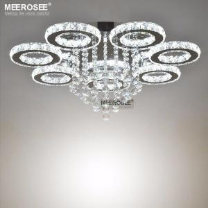 2019 New design Crystal Ceiling Light Diamond LED Crystal lamp for Dining Living room Ring Circle Lustres Lamparas de techo Home