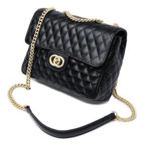 2018 New Fashion Korean Version Ladies Leather Retro Small Fragrance Chain Shoulder Messenger Bag