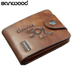 Men Wallets Short Vertical Fashion PU Leather High Quality Male Bifold Multi-slot Money Credit Card Holder Clutch Purse  92D9