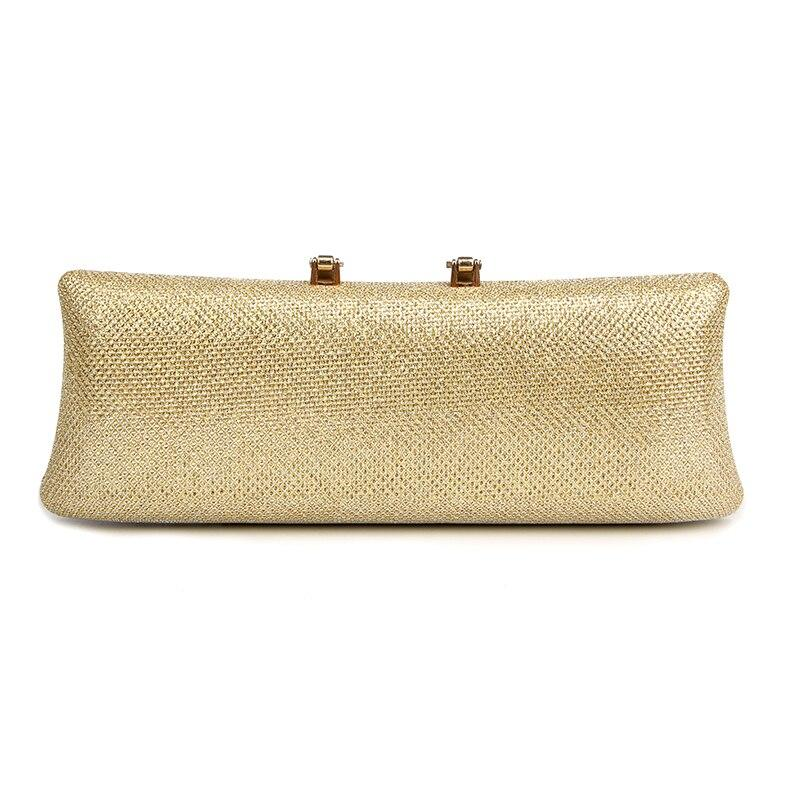 U Diamond Gold Clutch Bag Crystal Clasp Silver Evening Bags women Wedding Bride Purse glitter party clutches Ladies Wllet 1802