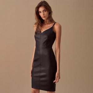 Sexy v Neck Party Club Dress Women Sleeveless Spaghetti Strap Sheath Dress Bodycon Slim Dress For Women Vintage Fashion New 2020