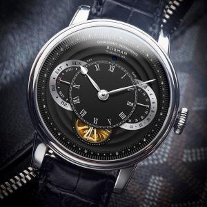 BORMAN men automatic watches luxury brand mechanical self wind wristwatch leather band dress watch relogio masculino week,date