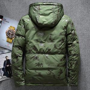-20 Degree Winter Parkas Jacket Men White Duck Down Parkas Windbreaker Waterproof Hooded Thicken Warm Jackets Overcoat Men