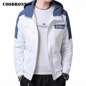 COODRONY Brand Jacket Men High Quality Streetwear Fashion Casual Hooded Coat 2020 Autumn Winter New Arrival Mens Outerwear C8006