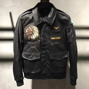 2018 New Arrivals 4XL Patchwork Locomotive Leather Jackets and Coats For Big and Tall Mens Biker Leather Jacket Overcoats C1670