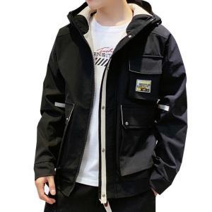 2019 Spring Autumn Jacket Men Hooded Mens Jackets and Coats Windbreaker Outwear Streetwear Big Pocket Men Jacket
