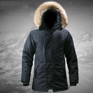 N3B -30 Degree Outdoor Men Hooded Thickness Coat Windbreaker Waterproof Cold-proof Overcoat Tactical Climbing Trekking Jacket