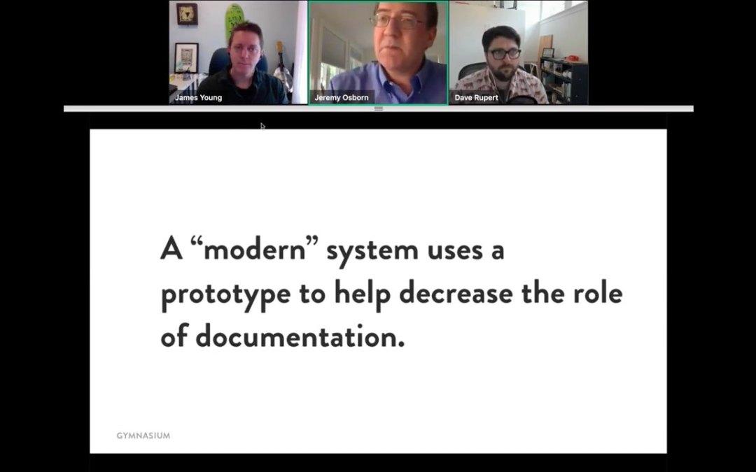 Webinar Recording – UX Design: Prototyping as Process