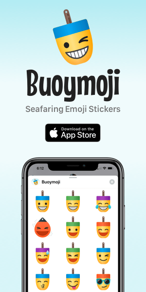 Buoymoji Seafaring Emoji Stickers by @jydesign