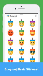 Buoymoji Basic stickers iPhone Example