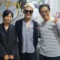[OTHER INSTAGRAM] 161023 Park Gyung-su shared a photo with Junsu, backstage of 'Dorian Gray'