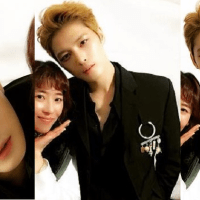 [OTHER INSTAGRAM] 170114 Lucky Girl shares Backstage Photos with Kim Jaejoong at GDA