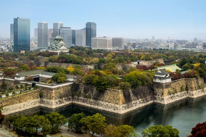 大阪城遠景