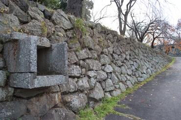 上田城百間掘の樋