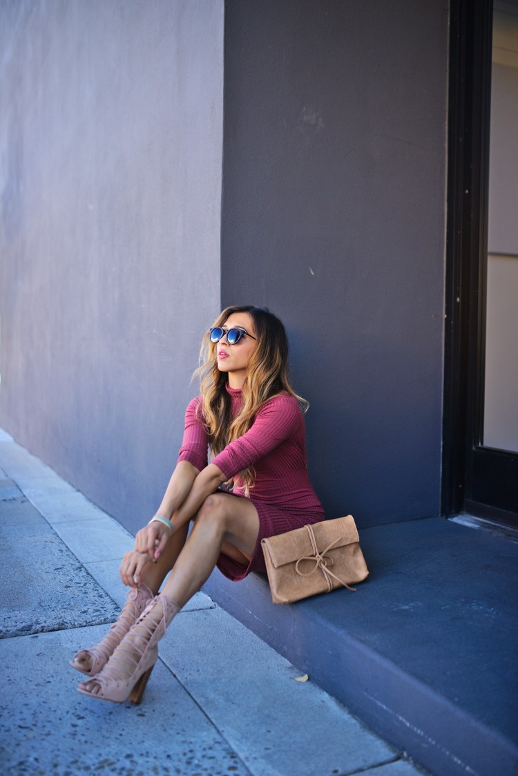 cuppajyo_sanfrancisco_bayarea_fashion_lifestyle_travelblogger_fallfashion_lulus_streetstyle_bodysondress_turtleneck_rustyrose_laceupbooties_1