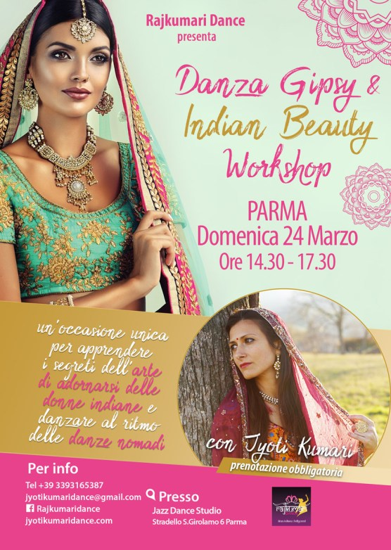 Danze Gipsy & Indian Beauty Workshop – Jyoti Kumari Dance