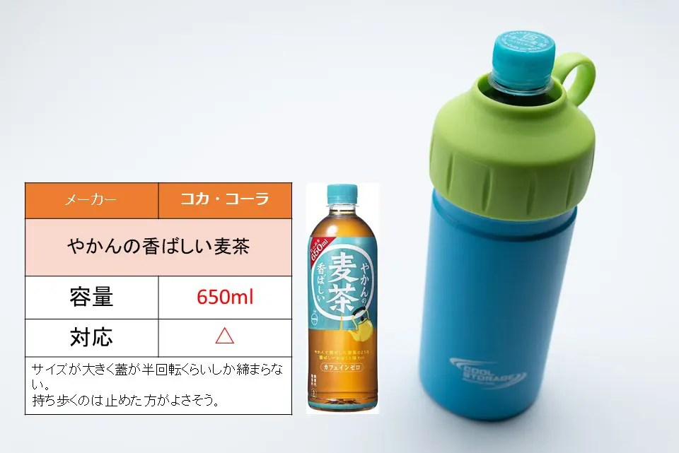 やかんの麦茶650ml