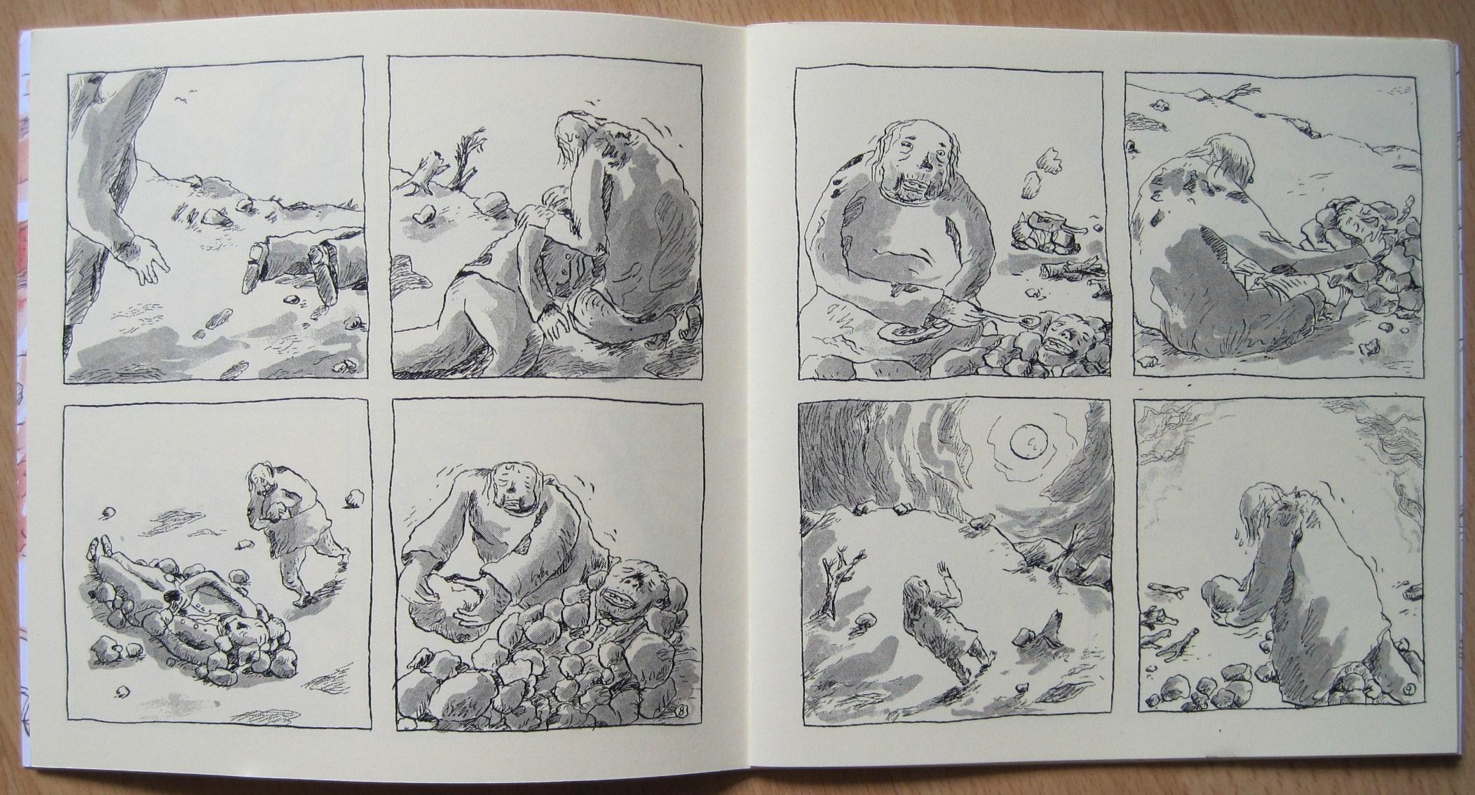 Lucifer, sivut 8 ja 9