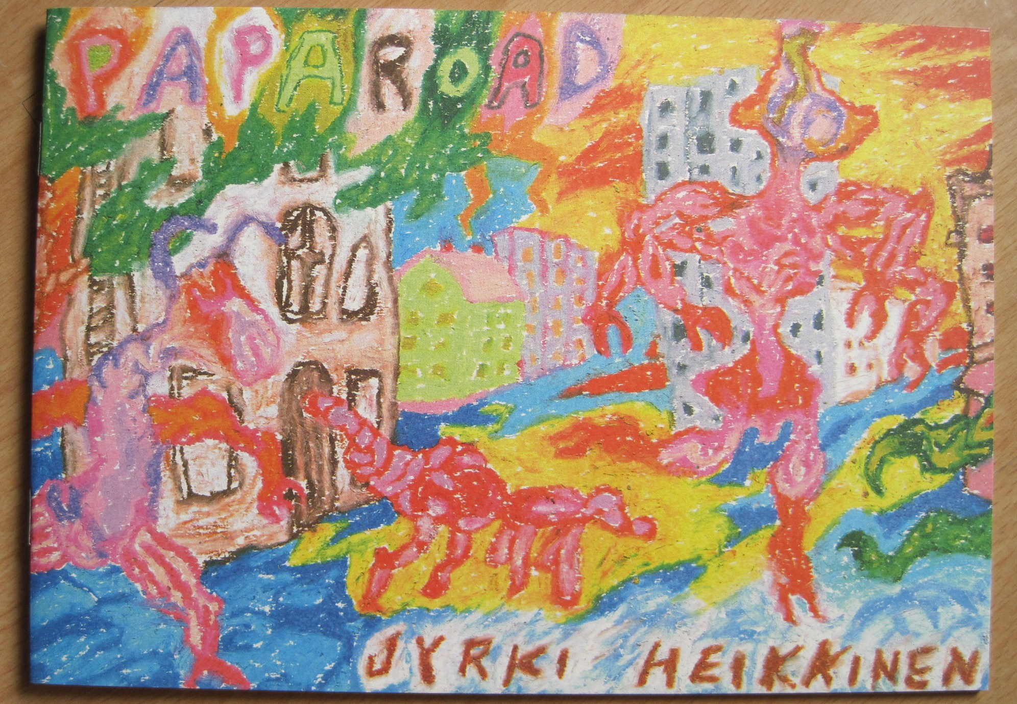 Paparoad, kansi
