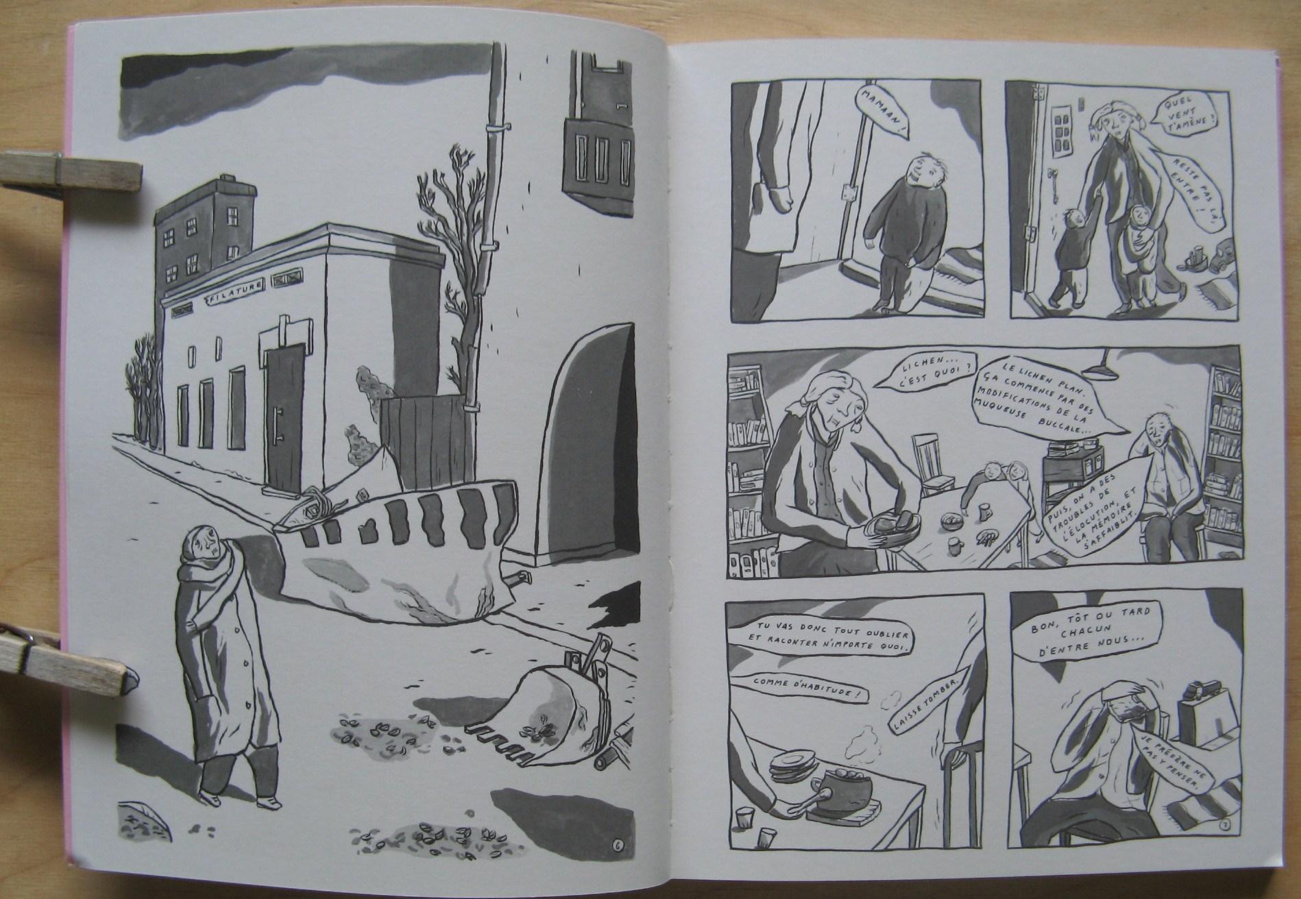 Lichen rouge, sivut 6 ja 7