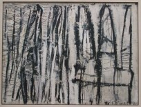 Ouarzazat, 1953, Cy Twombly Foundation, en dépôt à la Menil Collection, Houston