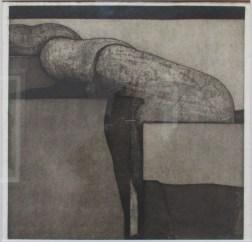 Aziz ABOU ALI, Métamorphose, 1975, Gravure sur papier, Collection particulière