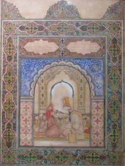Haj Abdelkrim Ouazzani, Sans titre, Années 50, Technique mixte sur papier, Collection privée