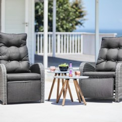 Outdoor Recliner Chairs Uk Craigslist Office Chair Garden Lounge Furniture Patio Jysk Reclining And Side Tables