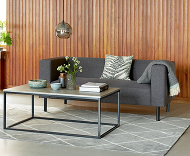 pictures of coffee tables in living rooms hotel style room ideas table side and glass jysk stylish modern