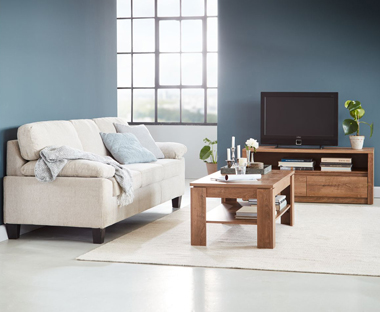 small living room coffee table l shaped furniture layout side tables and glass jysk oak online